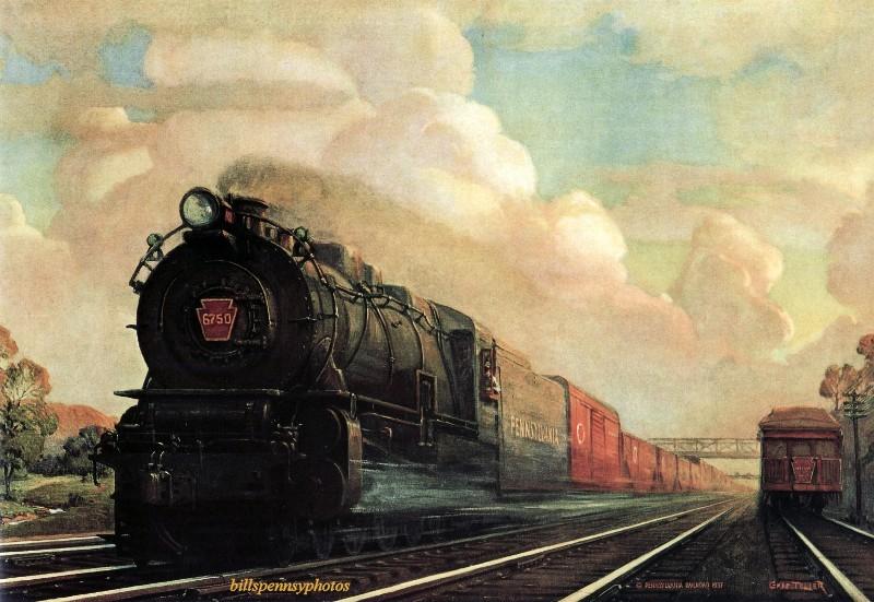 1938. Главная линия американской коммерции.