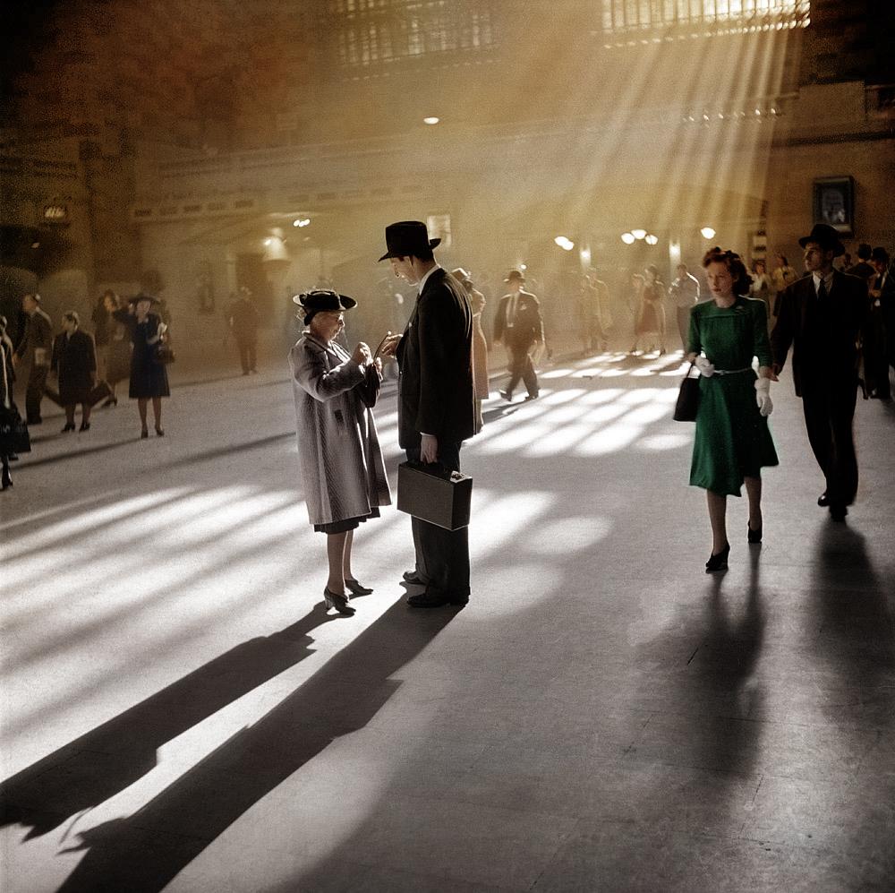 Центральный вокзал, Нью-Йорк. Октябрь 1941 года.