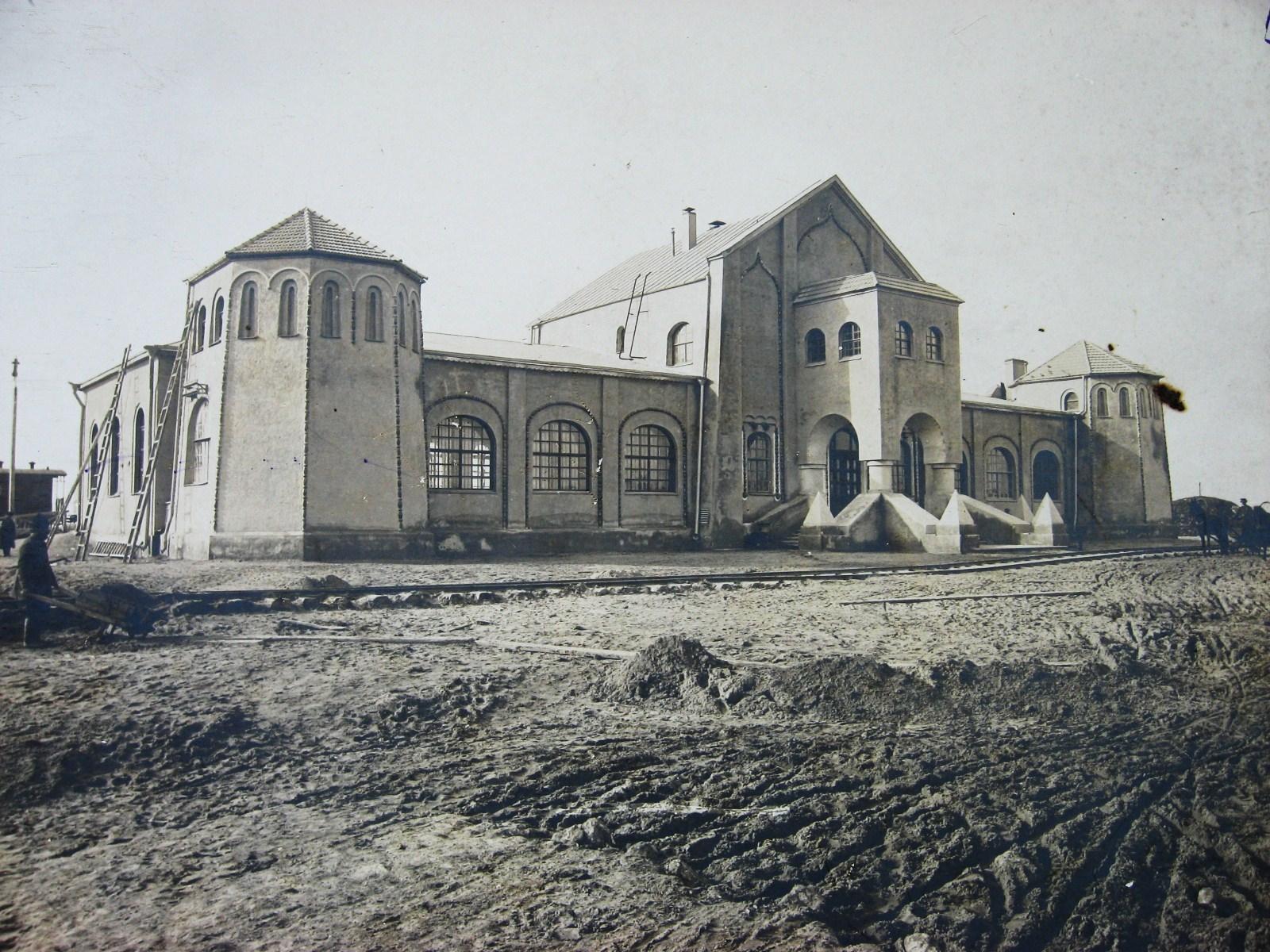 МКЖД Пассажирское здание на станции Муром. Фото 1912 год.
