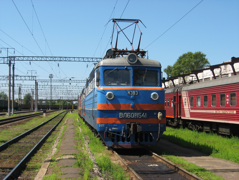 46. Станция Шарья, ВЛ60ПК-1541.