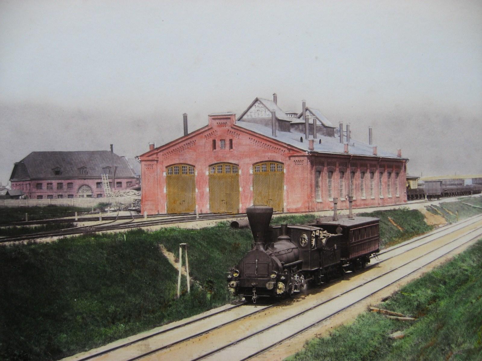 4. Паровозный сарай на Товарной станции