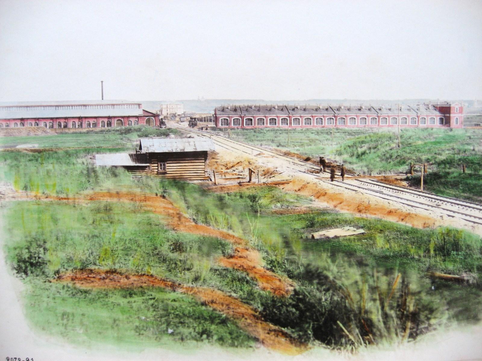 16. Вид на ст. Тула со стороны Курска
