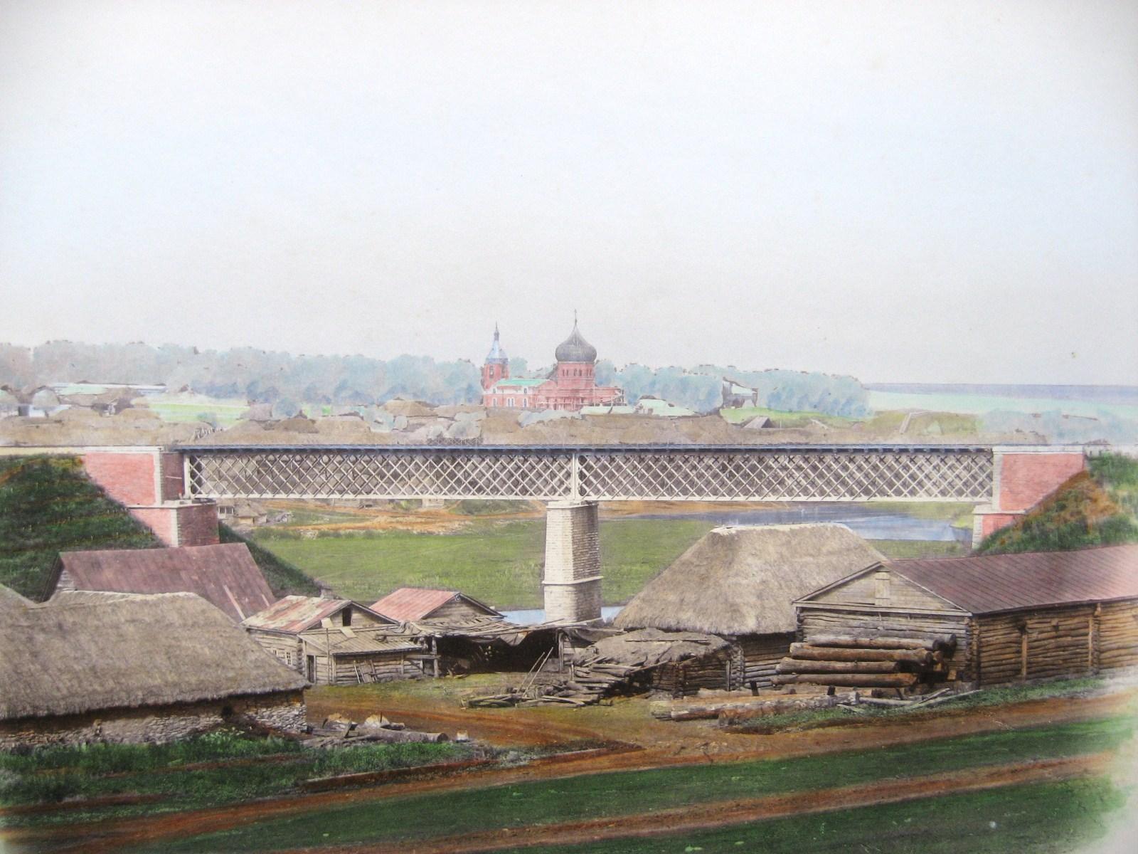 22. Мост через р. Плаву близ ст. Сергиево