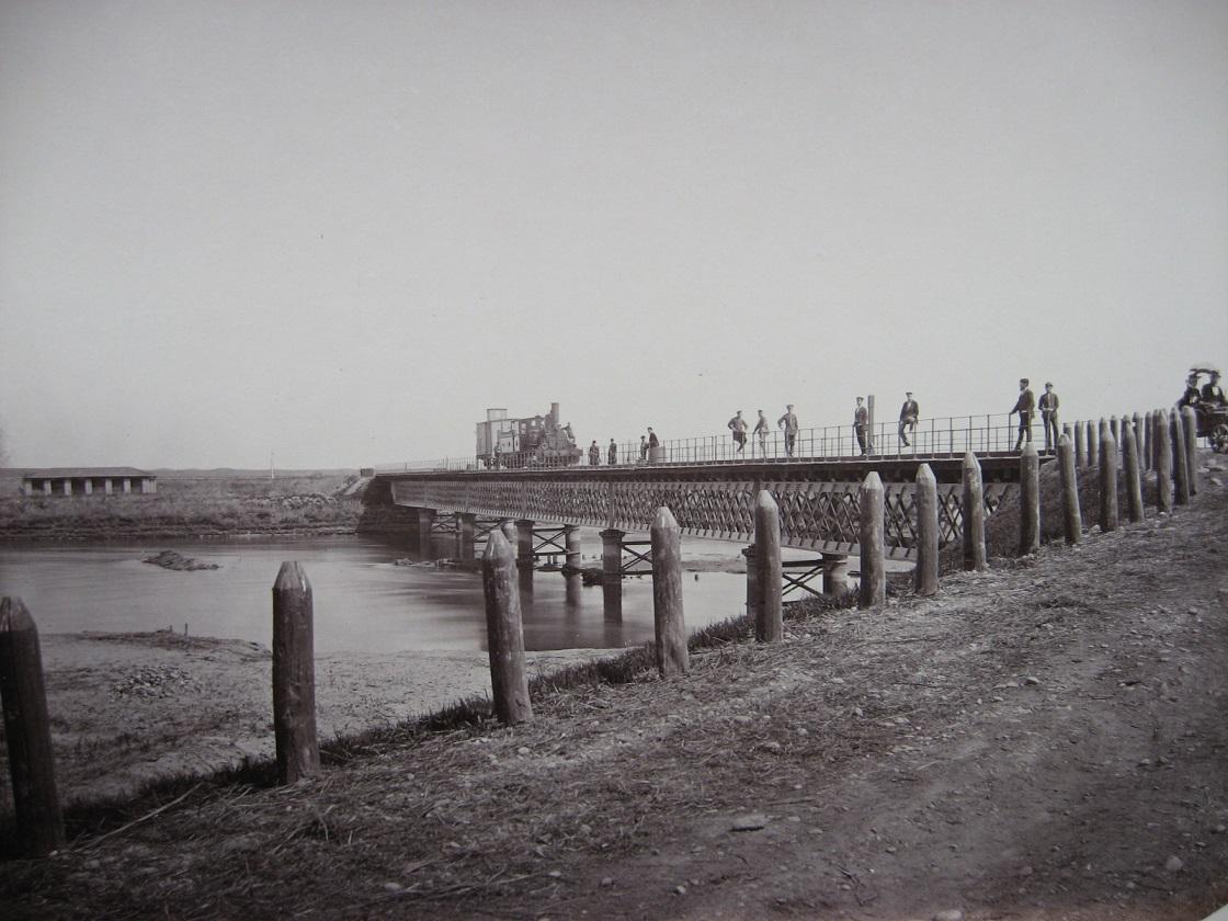 13. Мост через реку Талку
