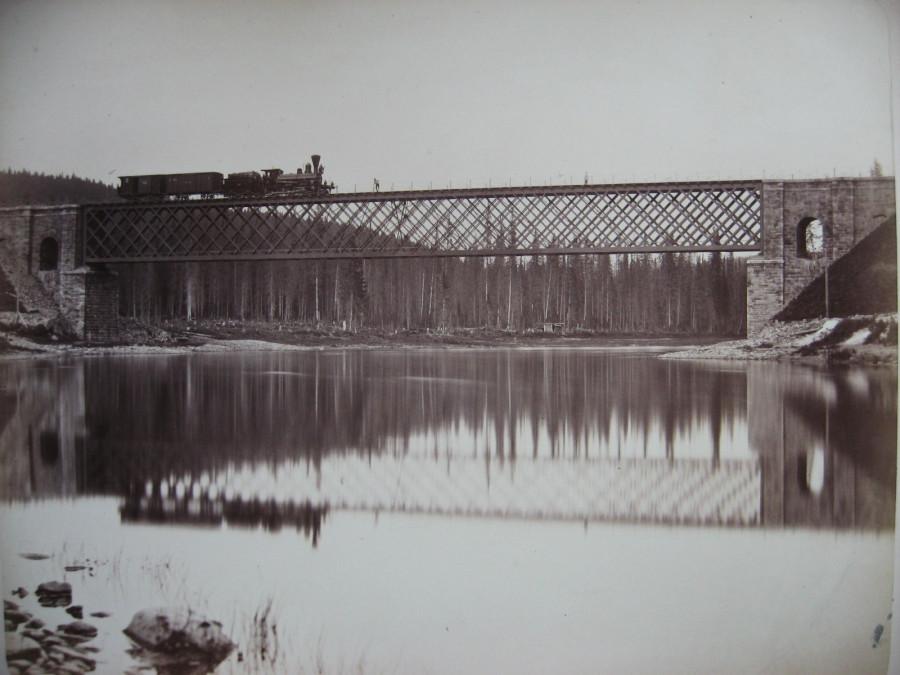 16. Луньевская линия. Мост через р. Усьва на 54 версте.