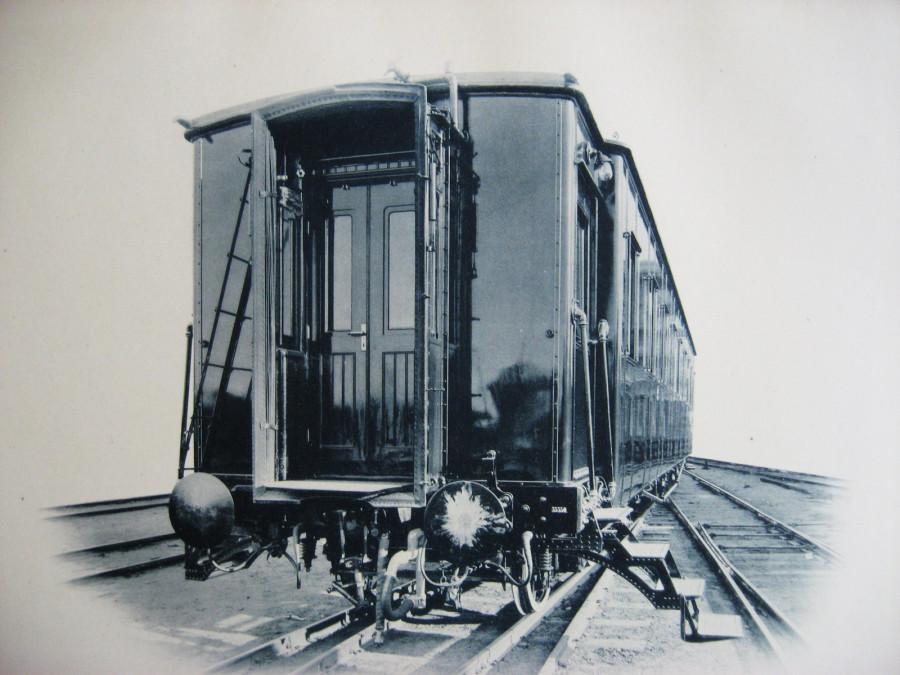 3. Концевой вид вагона.