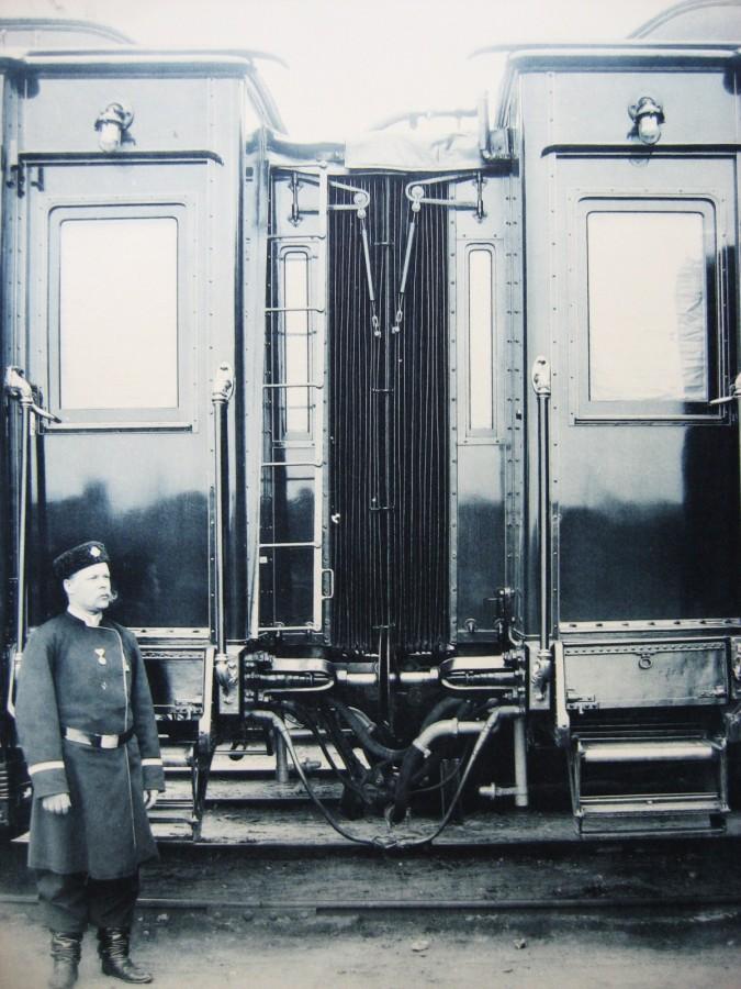 5. Соединение вагонов между собой.