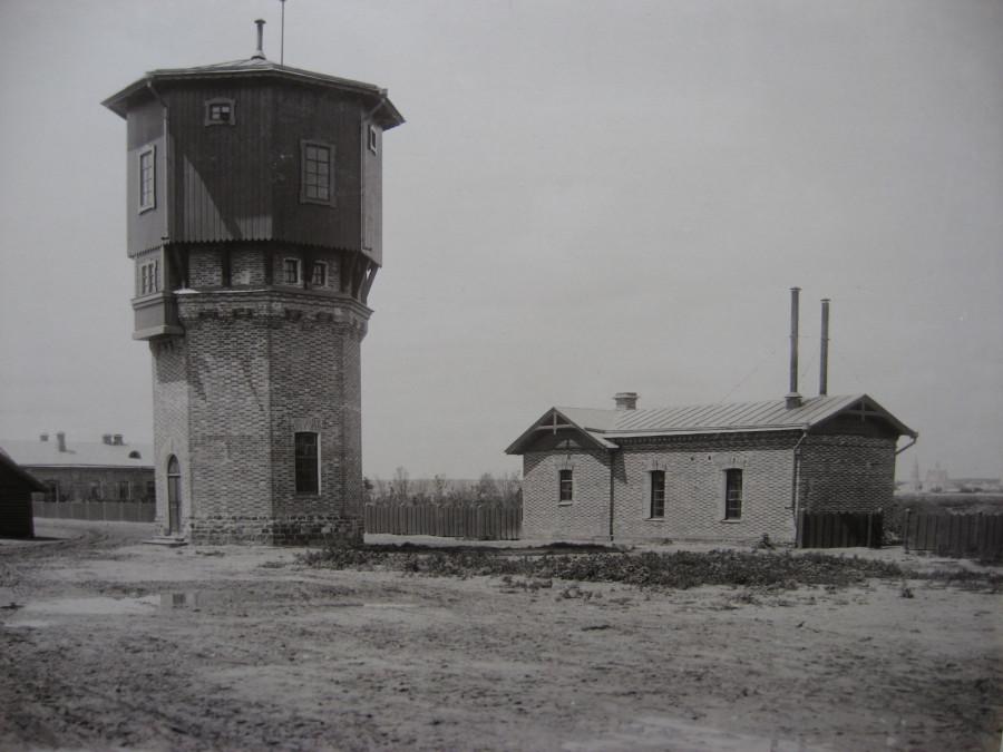 6. Водоемное и водоподъемное здания на ст. Острогожск