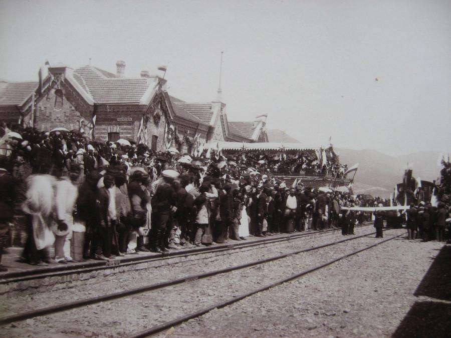2. Открытие движения Министром путей сообщения 25 июня 1888 года.
