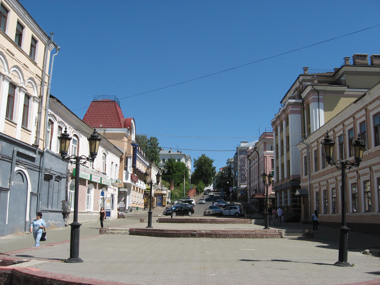 1. Пешеходная улица Баумана.