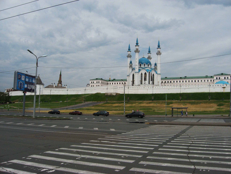 105. Улица Булачная. Вид на Кремль.