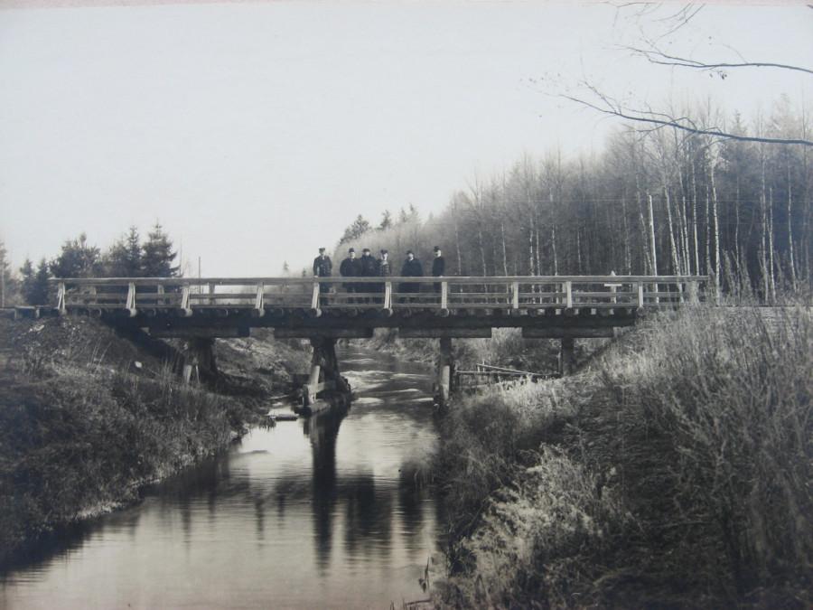3. Мост через Келецкую осушительную канаву.