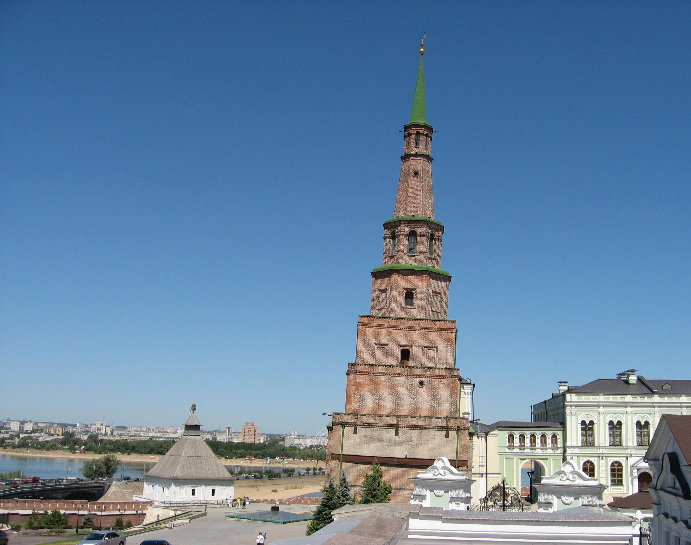 13. Башня Сююмбеки.