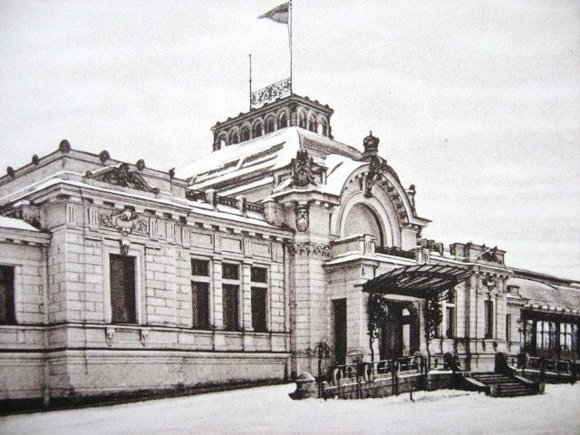 1. Царский павильон. Варшавский вокзал в Санкт-Петербурге.