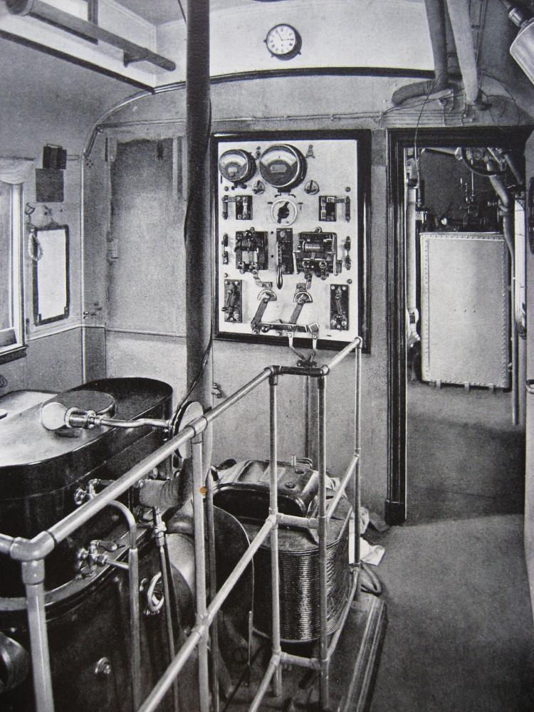 11. Отделение динамо-машины.