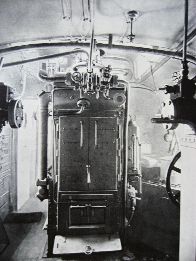 12. Отделение для котла электрического освещения.