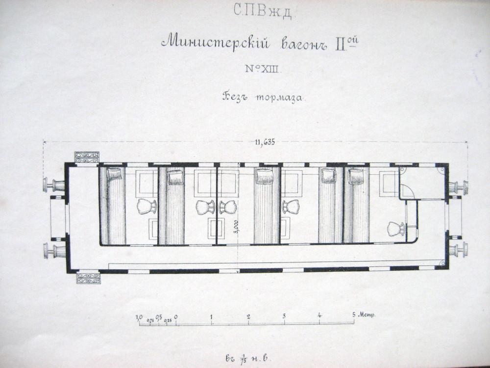 25. План министерского вагона №2