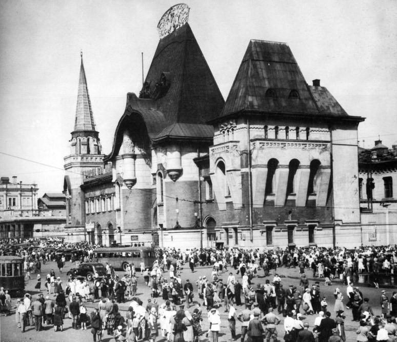 7. Северный (Ярославский) вокзал. 1936 год.