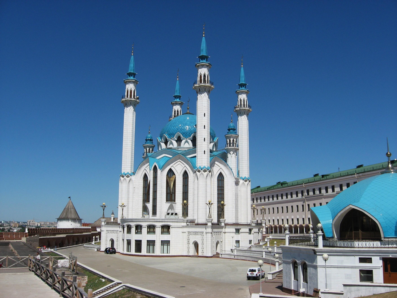 16. Кремль. Мечеть Кул-Шариф.
