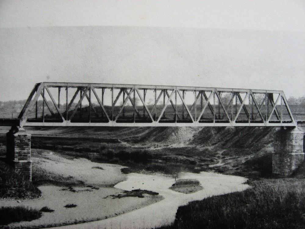 17. Мост через р.Истру на 55 версте.