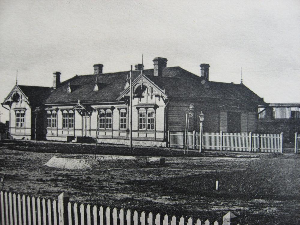 36. Типовой жилой дом на станциях IV класса.
