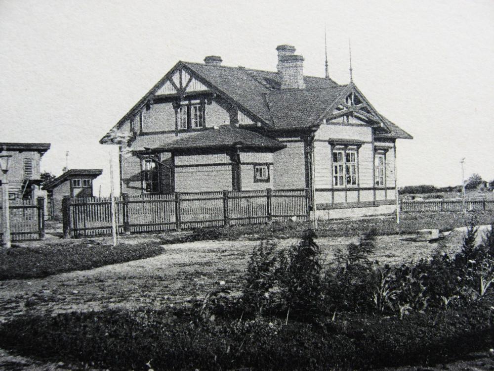 37. Типовой жилой дом на станциях IV класса.