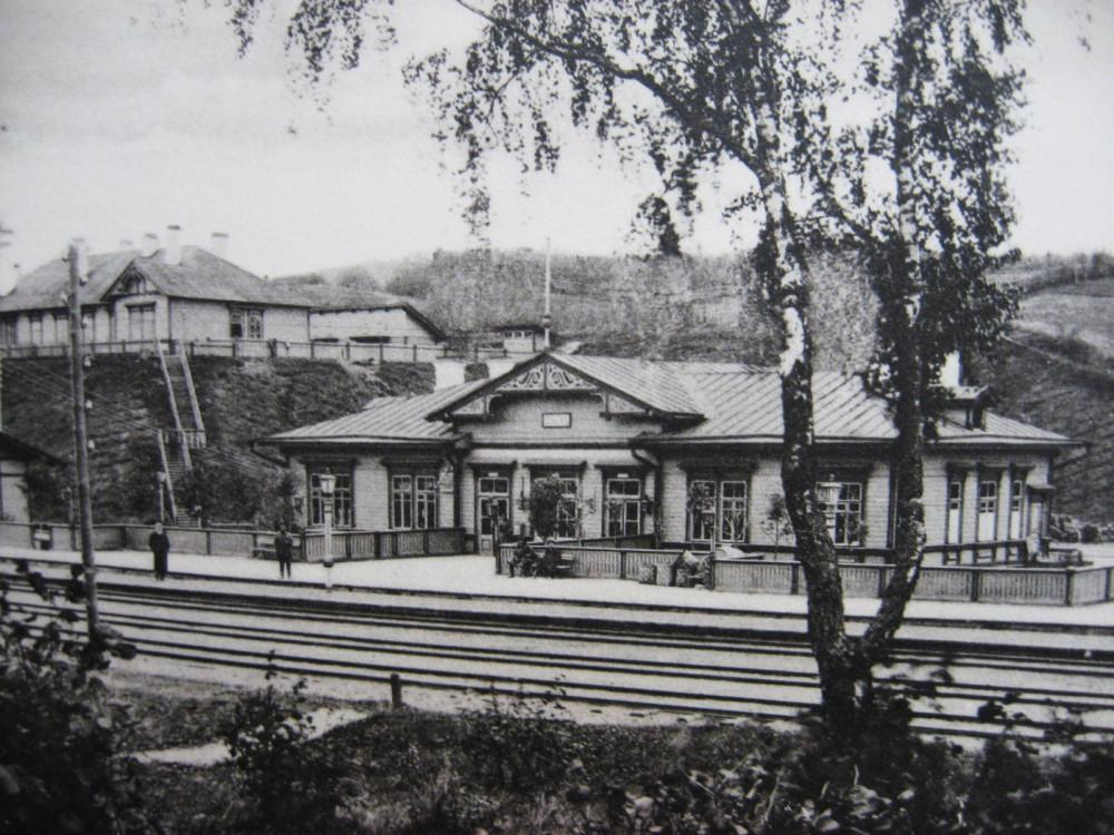10. Пассажирское здание на станции Себеж.