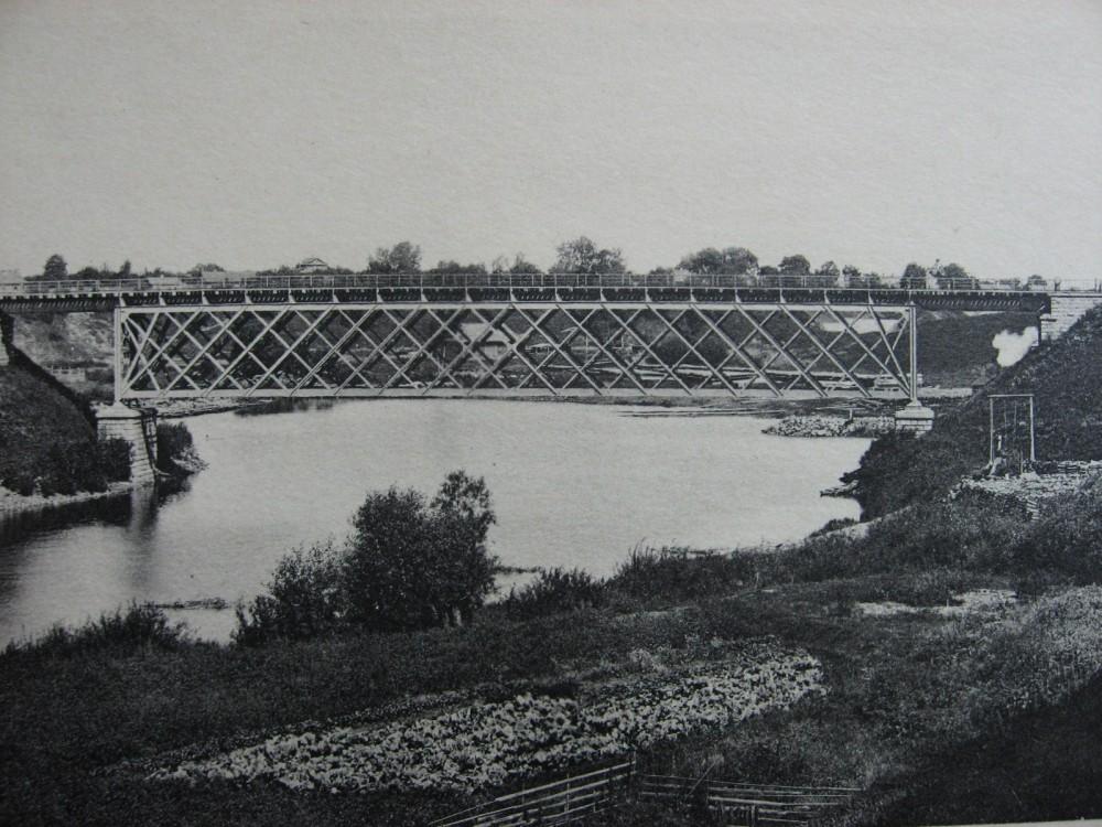24. Мост через р.Ловать на 451 версте.
