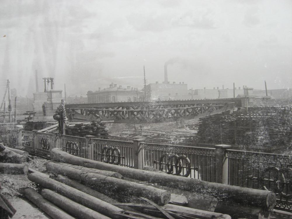 3. Работы на Обводном канале. 1901 год.