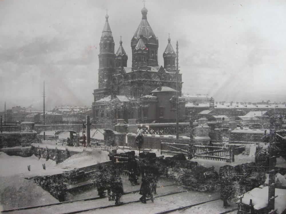 4. Путепровод на Обводном канале. 1901 год.