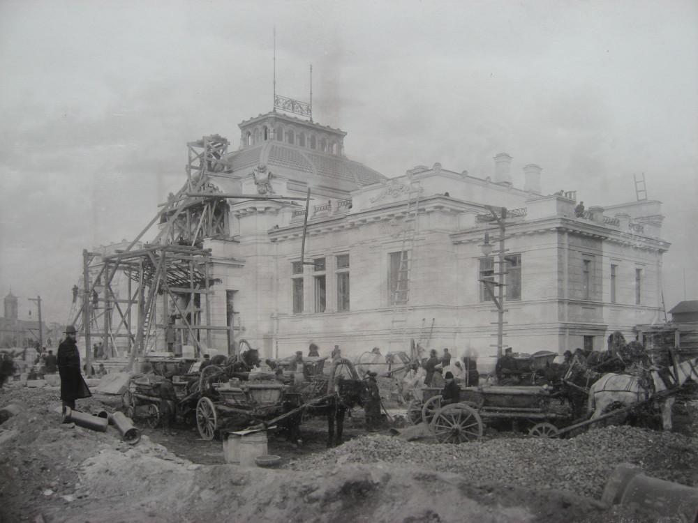 12. Главное здание станции Императорских поездов. 1901 год.