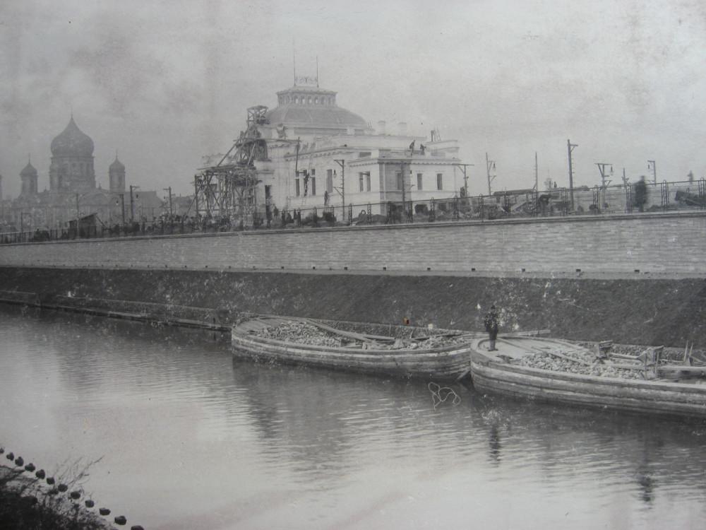 13. Главное здание станции Императорских поездов. 1901 год.