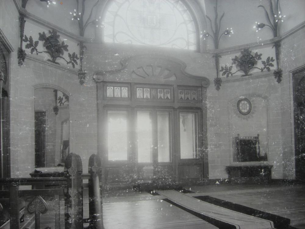 14. Вестибюль главного здания. 1901 год.
