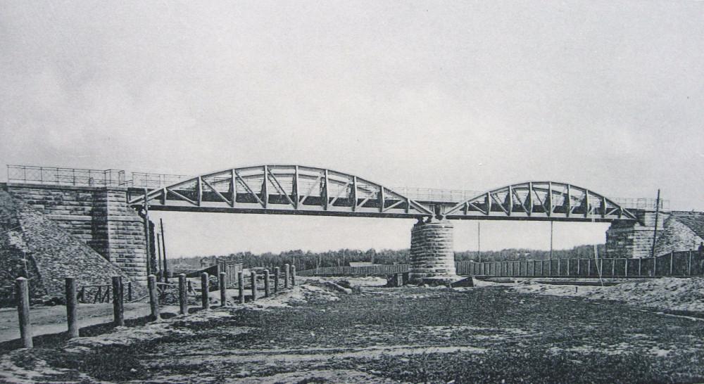 18. Общий вид моста через Савеловскую ж.д.