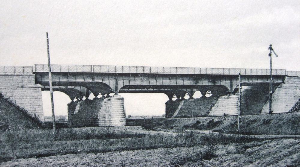 21. Общий вид моста над Курской ж.д.