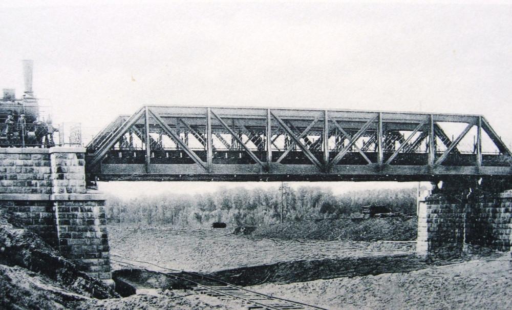 27. Общий вид моста через Виндавскую ж.д.