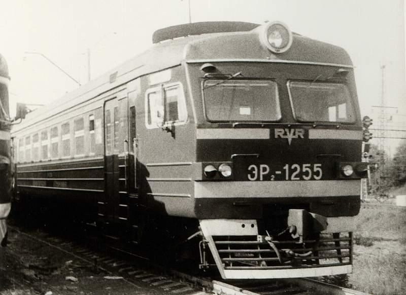 ЭР2-1255, депо Лобня.