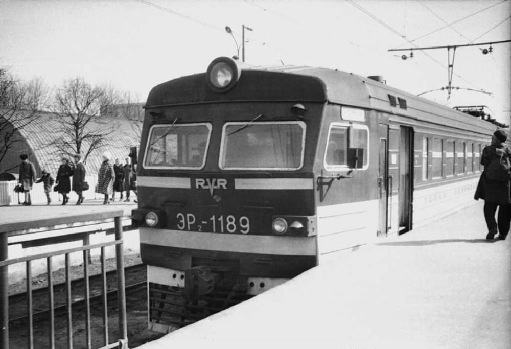 ЭР2-1189, ст.Москва-Павелецкая, 1980 год.