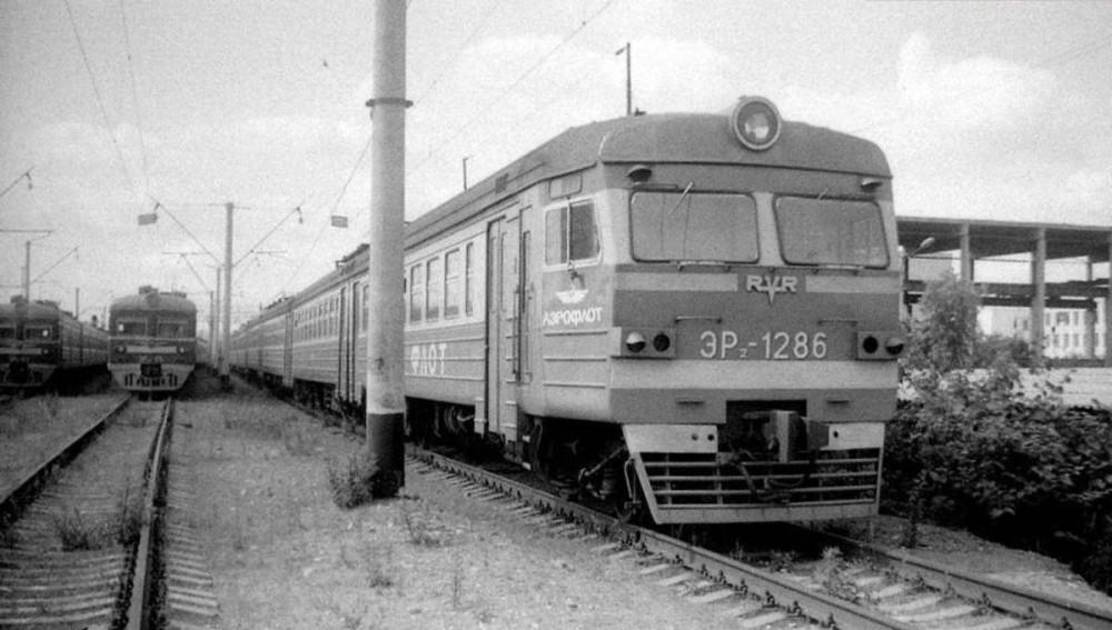 ЭР2-1286, депо Перерва, 1984 год.