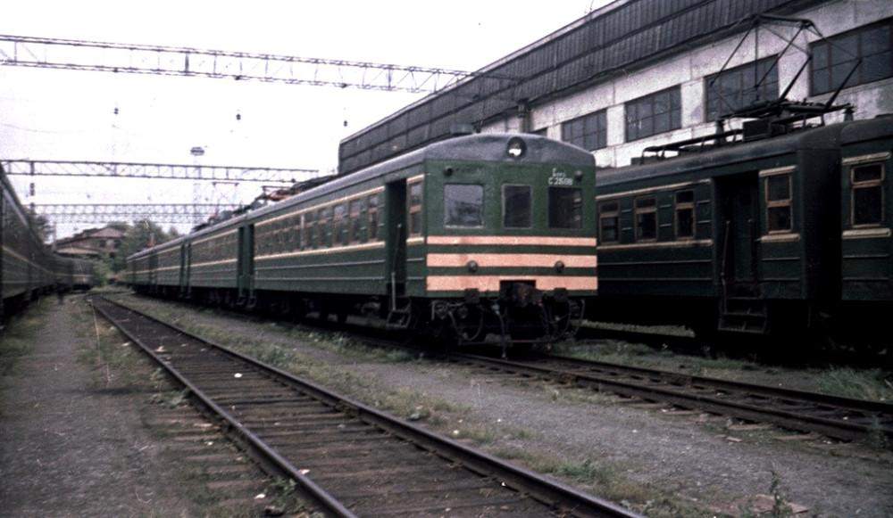 Электросекция Ср-1508, локомотивное депо Пермь-II, сентябрь 1986 год.