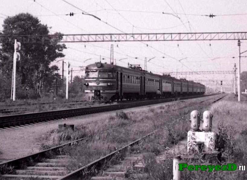 ЭР1-213, станция Шатура Моск.ж.д., 1986 год.