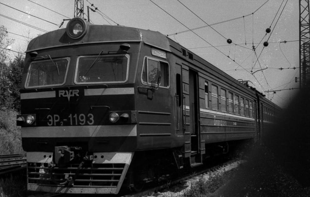 ЭР2-1193, депо имени Ильича, 1982 год.