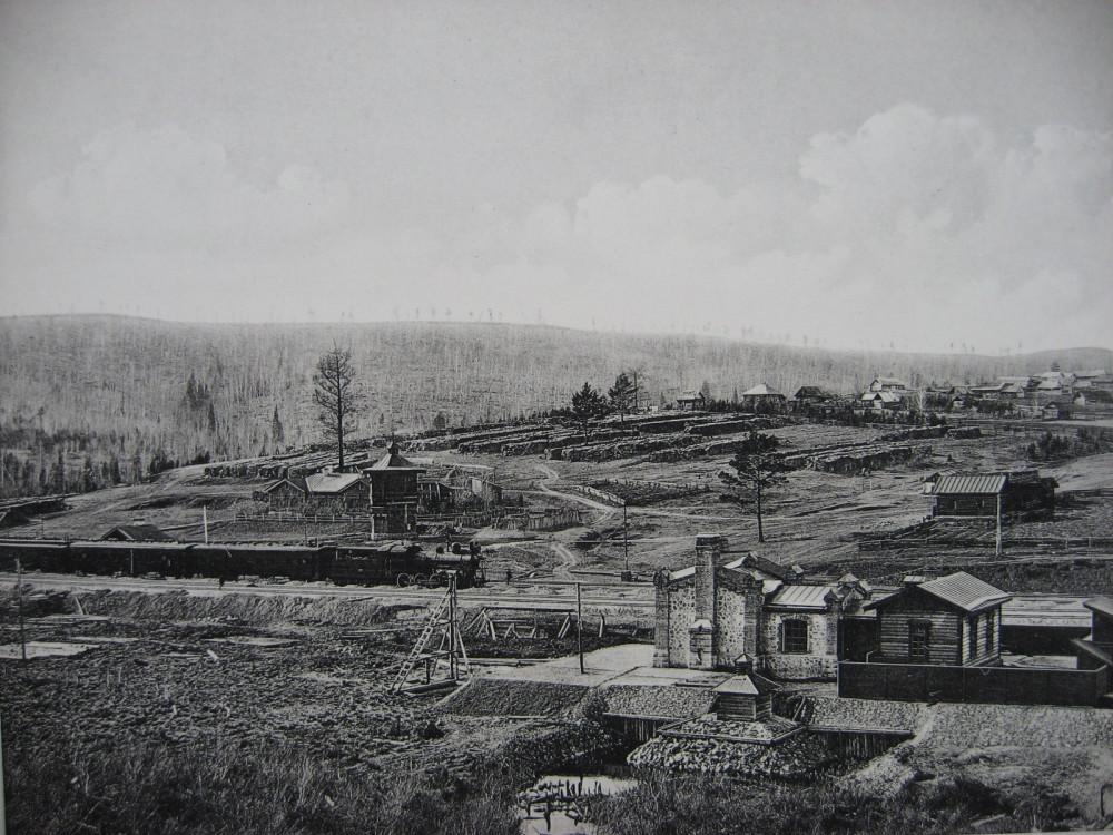 11. Общий вид станции Сорокино.