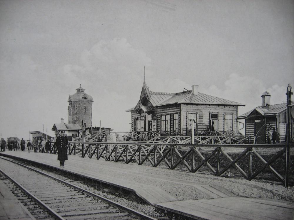 14. Общий вид станции Камарчага.