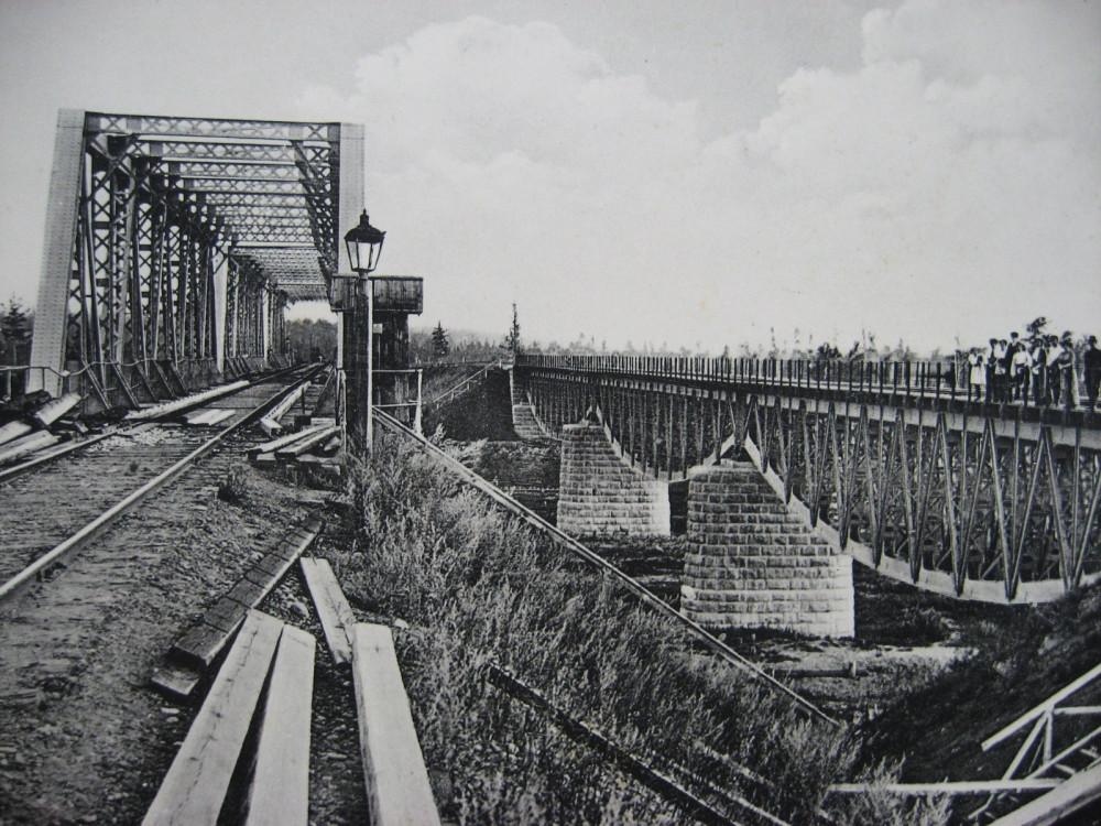 18. Вид на мост через реку Рыбную на 2179 версте.
