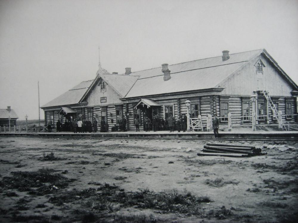 20. Временная станция Кривощеково.