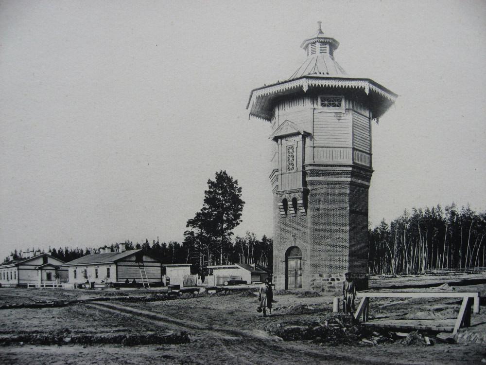 9. Водоемное здание на станции Обь.
