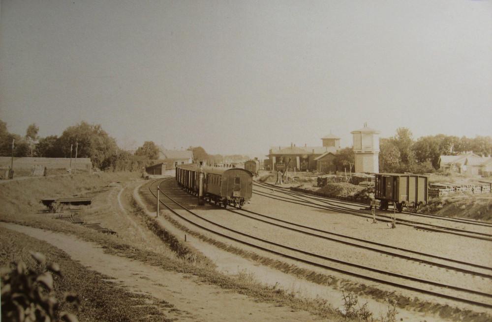 6. Станция Ливны. Пути после перестройки.
