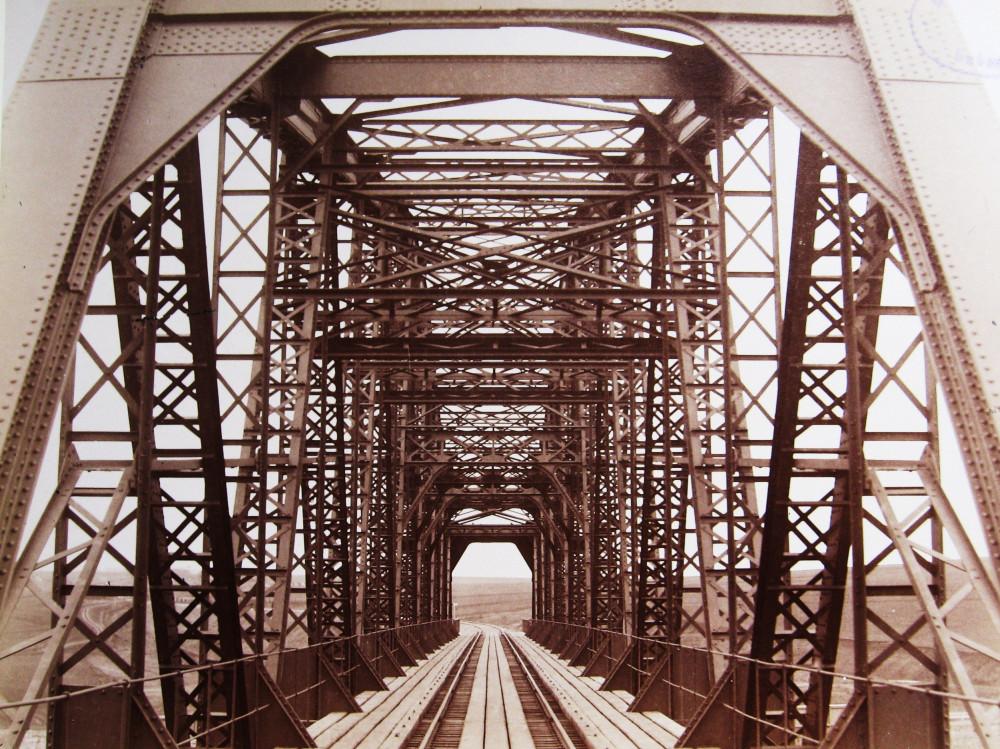 7. Мост через реку Сосну.