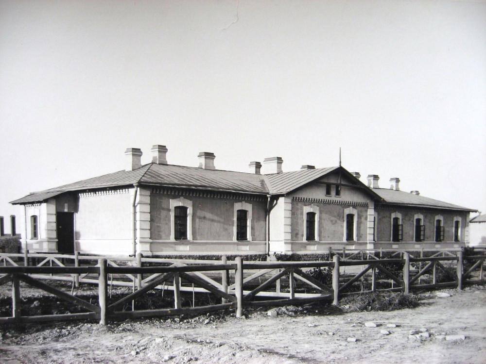5. Жилой дом на станции Казалинск.